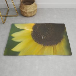 Summer Day Sunflower | photography Rug
