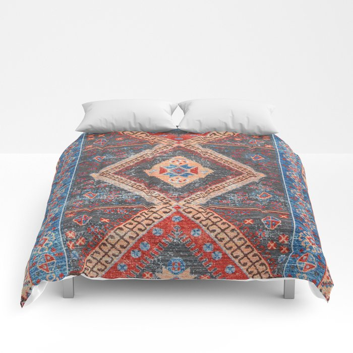 (N16) Boho Moroccan Oriental Artwork for Rustic and Farmhouse Styles. Comforters
