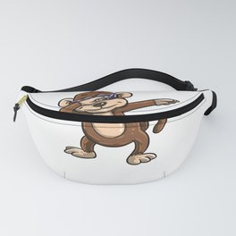 Funny Dabbing monkey product - perfect gift for kids Fanny Pack