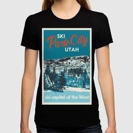 Park City Vintage Ski Poster T-shirt