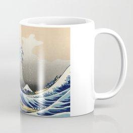 Katsushika Hokusai, The Great Wave off Kanagawa, 1831 Coffee Mug
