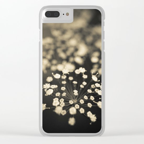 Summer Lace Clear iPhone Case