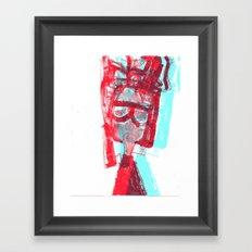 portrait 2 Framed Art Print