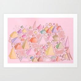 tripe  Art Print