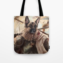 Joan of Bark Tote Bag