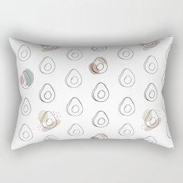 avocado obsession Rectangular Pillow