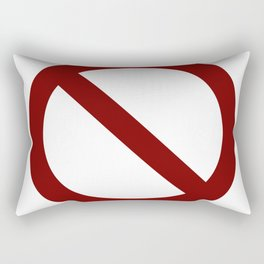 prohibition Rectangular Pillow