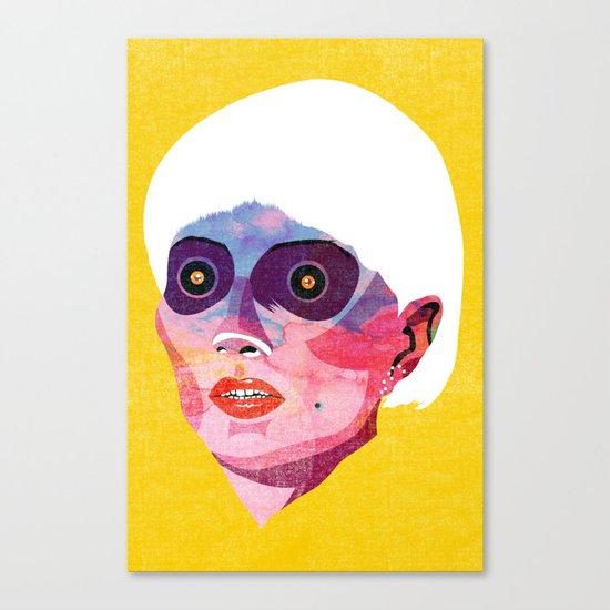 head_121213 Canvas Print