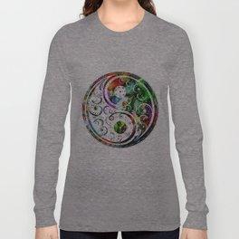 Yin and Yang Balance Poster Print by Robert R Long Sleeve T-shirt