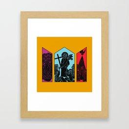 Easter Triptych Framed Art Print