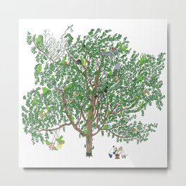 BB&PPINC Tree Print Metal Print