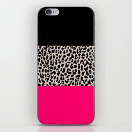 Leopard National Flag IV iPhone Skin