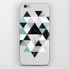 Graphic 202 Turquoise iPhone & iPod Skin