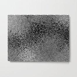WWaves Metal Print