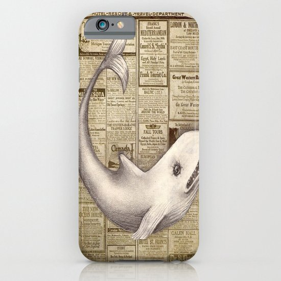 Travel Whale iPhone & iPod Case