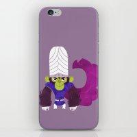 jojo iPhone & iPod Skins featuring Mojo Jojo by Galaxyspeaking
