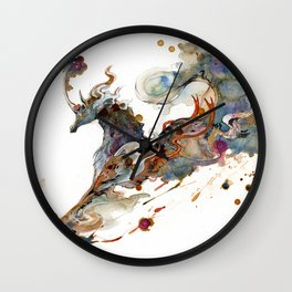 Kirin Unicorn Wall Clock