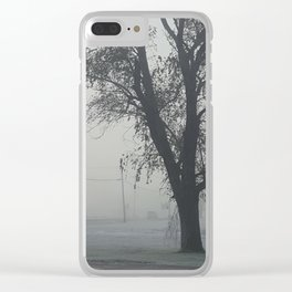 Ghost Tree Clear iPhone Case