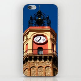 Plaza Vila de Gracia iPhone Skin
