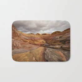 Canyon Overlook - Valley_of_Fire_State_Park, Nevada Bath Mat