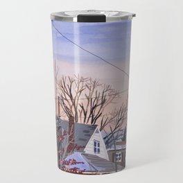 Sunset in NY Travel Mug