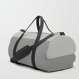 Benjamin Moore 2019 Color of Year Metropolitan AF-690 and Cinder Dark Gray Af-705 Horizontal Stripes Duffle Bag