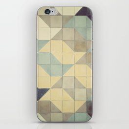 São Paulo Tile Pattern iPhone Skin
