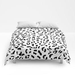 Leopard seamless pattern Comforters