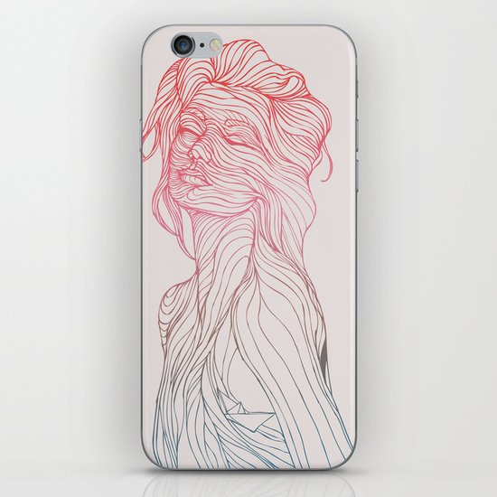 Someplace Beautiful iPhone Skin