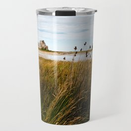 House between rocks in Brittany, Castel Meur III Travel Mug