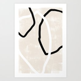 Abstracto Trio Art Print