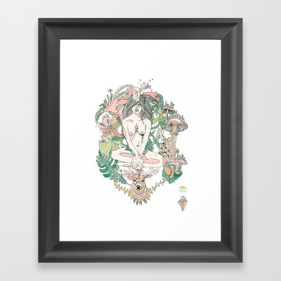 wonderlust Framed Art Print