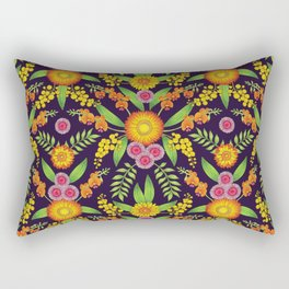 Australian Wildflowers Rectangular Pillow