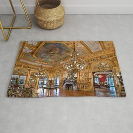 Newport Mansions, Rhode Island - Marble House - Grand Salon Rug