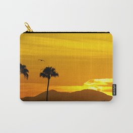 Seagull Over Saddleback at Sunrise Carry-All Pouch