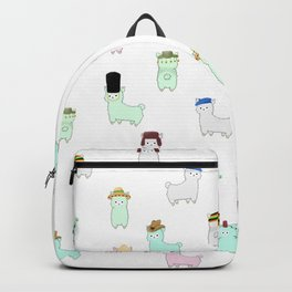 Alpacas with Hats - 'Pacas Around the World Backpack