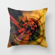 Vortex 4 Throw Pillow