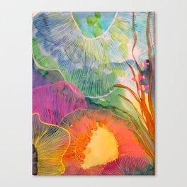 Hi Fishies Canvas Print