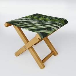Forest Floor Frond Folding Stool