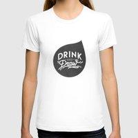 logo T-shirts featuring Logo by drinkanddrawmilano