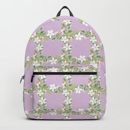 Bountiful Blossoms Violet Backpack