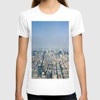 manhattan T-shirts featuring Manhattan  by Anna Harding