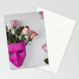 Face over Mind Stationery Cards