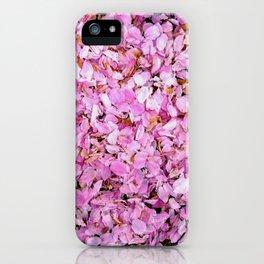 Cherry Snow iPhone Case