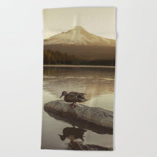 The Oregon Duck Beach Towel