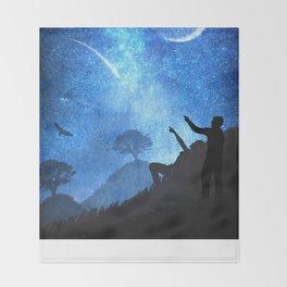 Beneath the Stars Throw Blanket