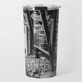 Dorchester, Down to the Studs / Black & White Travel Mug