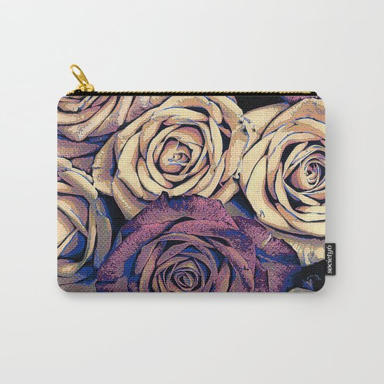 Bouquet of Roses Carry-All Pouch