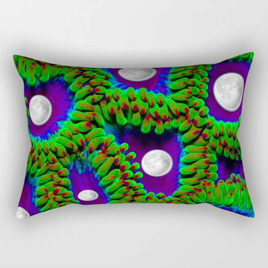 Gaia | Planet Earth into a New Dimension Rectangular Pillow