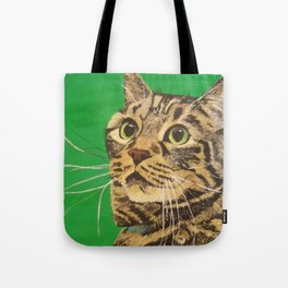 Cat that longs to be a Tiger! Tote Bag